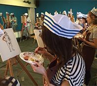 Workshop Naak model schilderen Purmerend